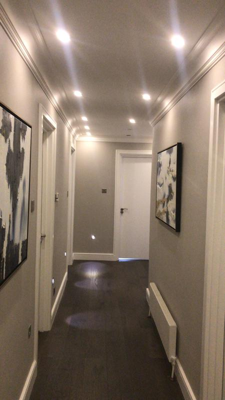 Image 32 - Fitted new ceiling and floor level lighting including sensors. Fitted wood flooring