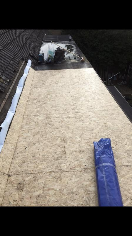 Image 45 - OSB deck ready for EPDM