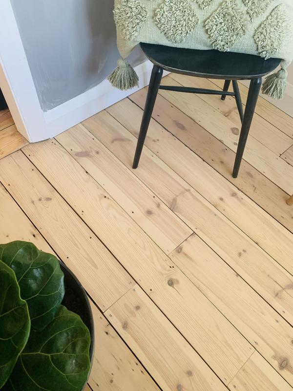 Image 12 - Pine floor restored