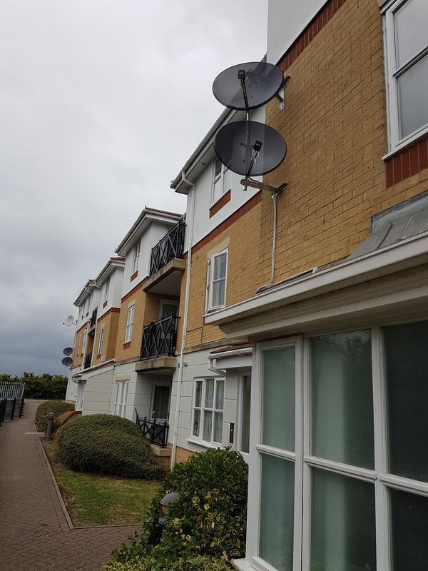 Image 2 - Sky & Hotbird communal system to six flats