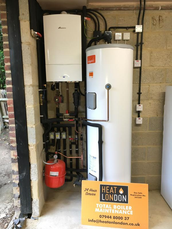 Image 9 - Worcester CDI installed with a 300litre Megaflo