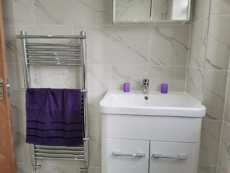 Image 16 - Washbasin and towel Rad installation