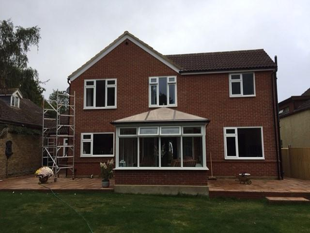 Image 15 - Finished extension and re-pointing