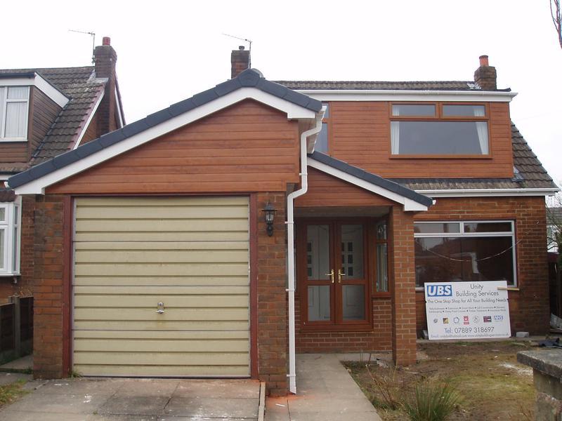 Image 40 - Dormer cladding and garage roof AFTER
