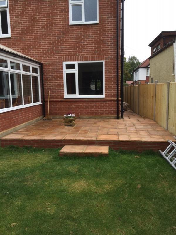 Image 16 - Finished patio