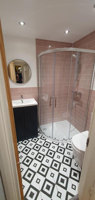 Image 9 - New Tiling, Decorating and Sanitaryware (Part of complete new bathroom installation)