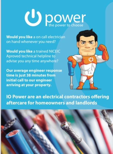 Image 17 - After care and emergency call out service stockport electrician , Manchester electrician .