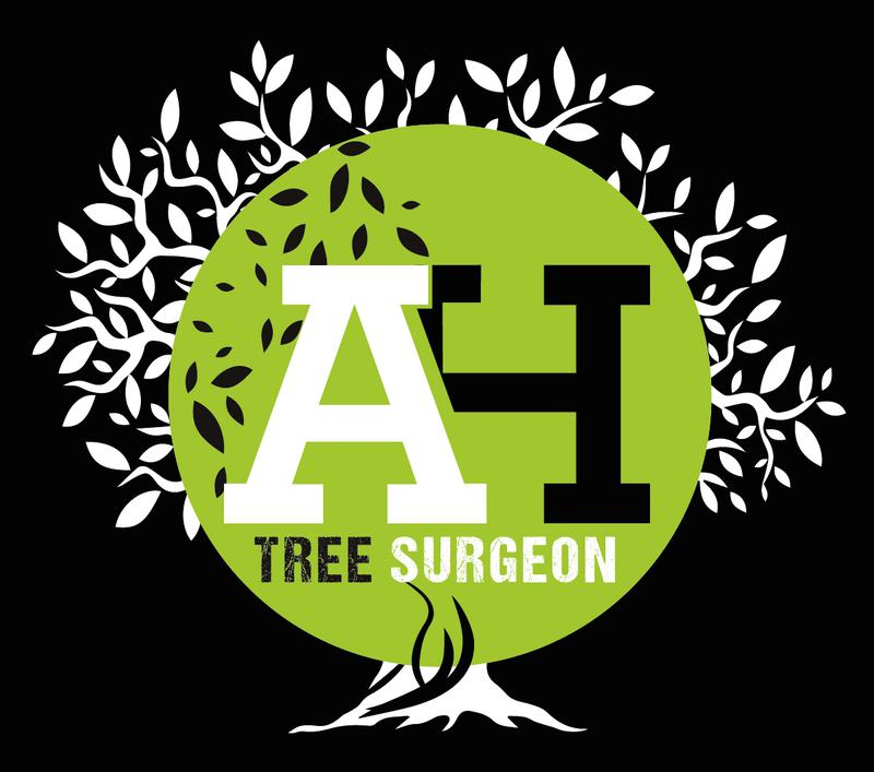 AH Tree Surgeon logo