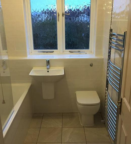 Image 85 - Another typical 10 day turnaround on a bathroom renovation recently completed in Hertfordshire, we take care of it all.