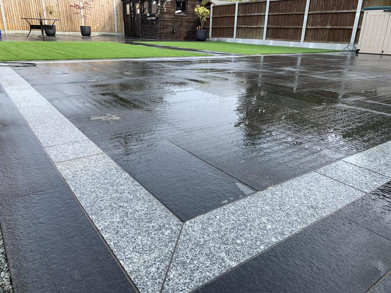 Image 7 - Stunning Black granite on this garden Makeover
