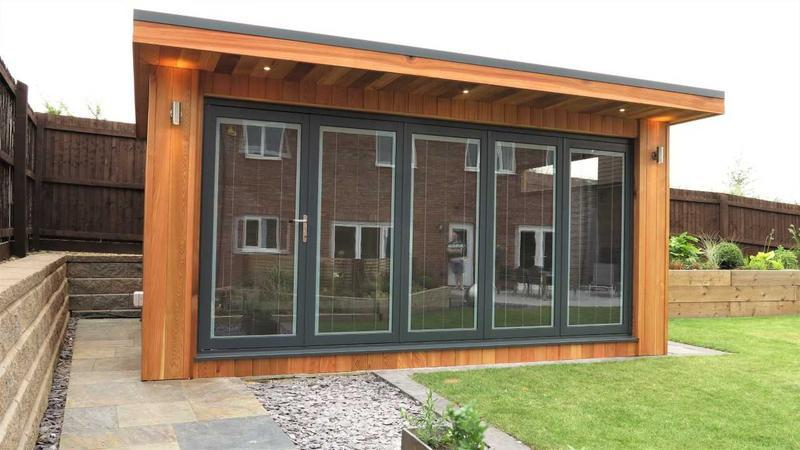 Image 16 - Aluminium Bi-Fold doors in Grey