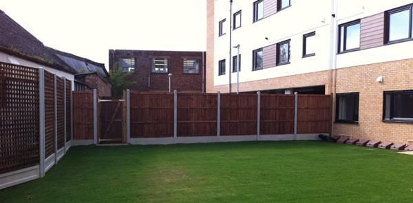 Image 7 - Closeboard Fence & Trellis Installation.