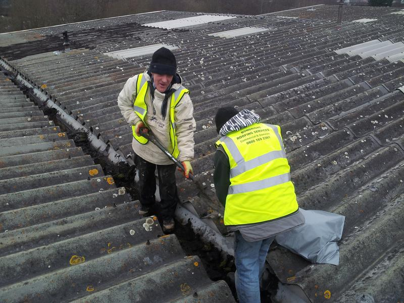 Image 27 - Box gutter cleaning