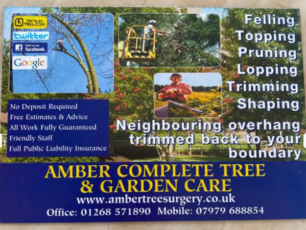 Amber Complete Landscapes & Garden Care logo