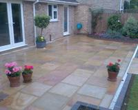 Image 16 - Indian Sandstone Patio in Buff Brown in Harpenden