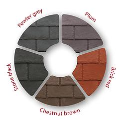 Image 31 - Tapco Slate Tile Colour Options