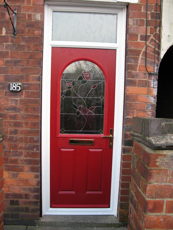 Image 13 - Red grp composite door installation in Whitwick