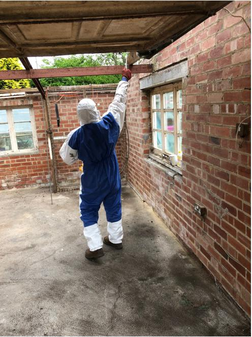 Image 9 - We have fully trained and equip staff to deal with your asbestos