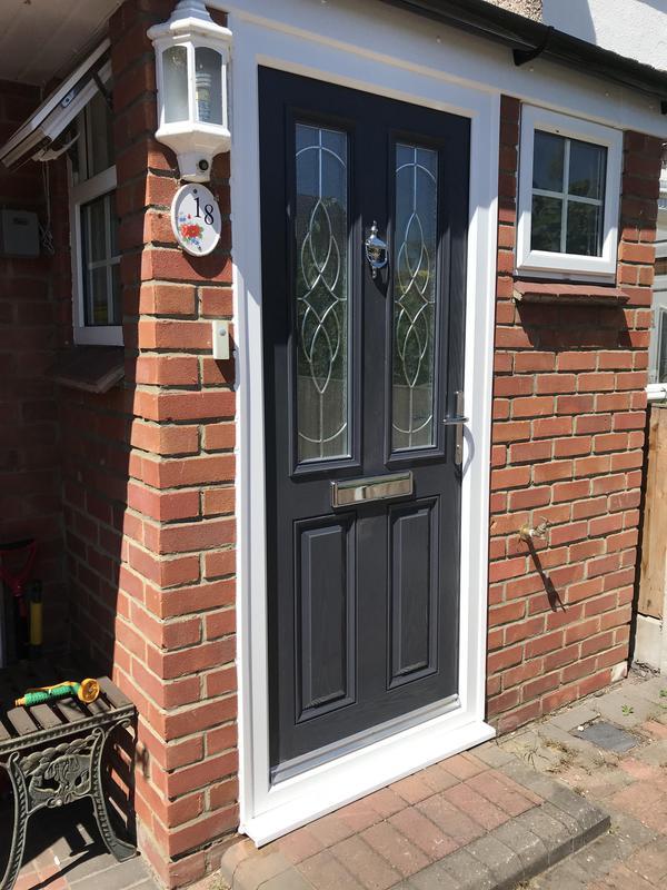 Image 6 - Anthracite Grey composite 4 door with Platinum Elegance glazing