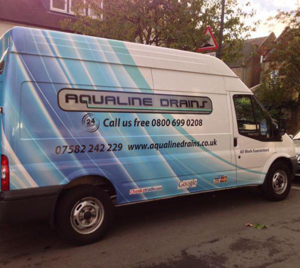 Aqualine Drains logo