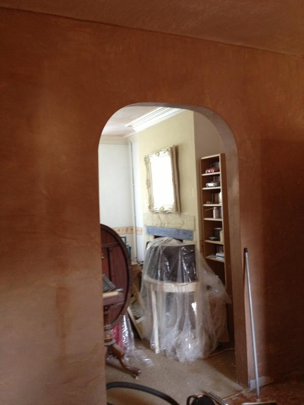 Image 57 - Archway construction and plastering, Rugby, Warwickshire, by DKM Developments Ltd, builders, Great Dunmow, Essex.