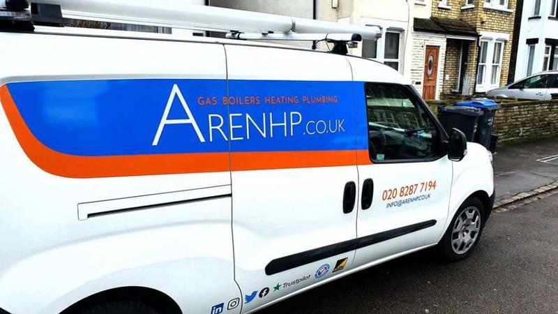 Image 1 - Aren Heating & Plumbing van.