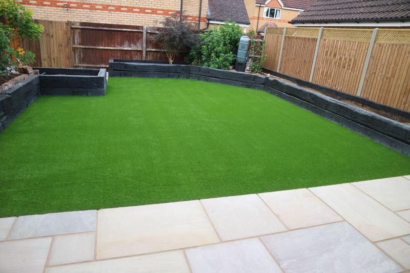 Image 1 - Artificial Lawn Installation Stevenage, Hertfordshire