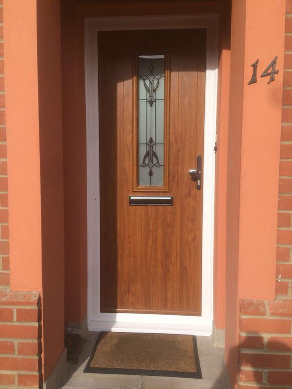 Image 124 - Ashington- Oak composite door