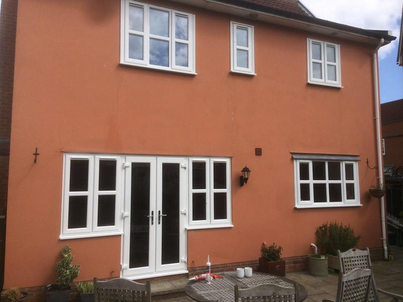 Image 44 - Ashingdon-White Casement windows and doors
