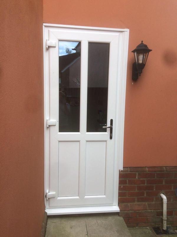 Image 123 - Ashington-White UPVC panel door