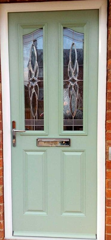 Image 1 - Aspley design Composite door in Chartwell Green