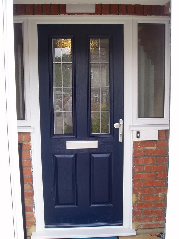 Image 19 - Blue composite door