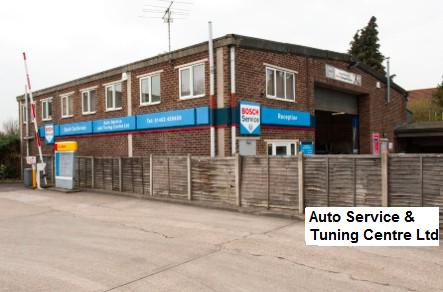 Auto Service & Tuning Centre Ltd logo
