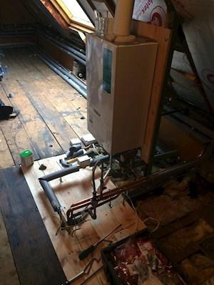 Image 4 - Boiler & Unvented Cylinder Installation
