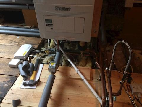 Image 5 - Boiler & Unvented Cylinder Installation