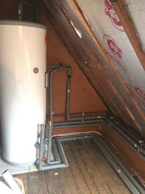 Image 7 - Boiler & Unvented Cylinder Installation
