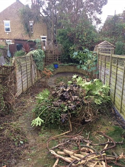 Image 6 - Sad and tired small backgarden Earlsfield preparing to clear