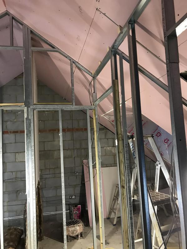 Image 27 - Metal stud walls