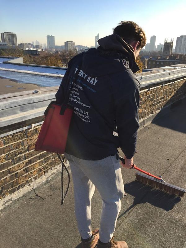 Image 22 - Electronic Leak Detection To Flat Roof - Islington, London