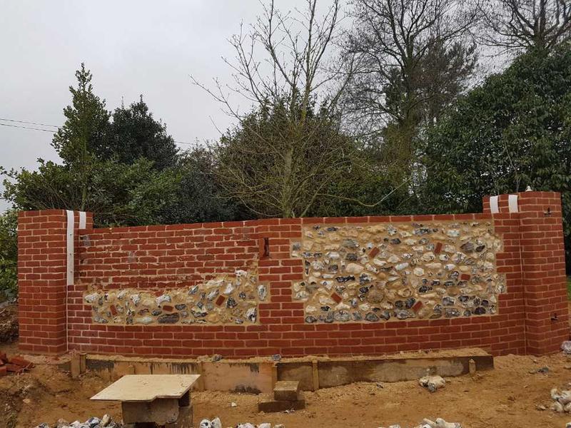 Image 29 - flint walls renovation in bircham by s1 builders norfolk