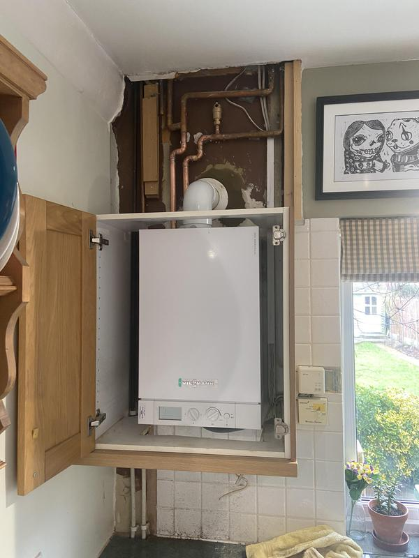 Image 8 - New Viessmann 26kw heat only boiler installation in guildord 10 year warranty