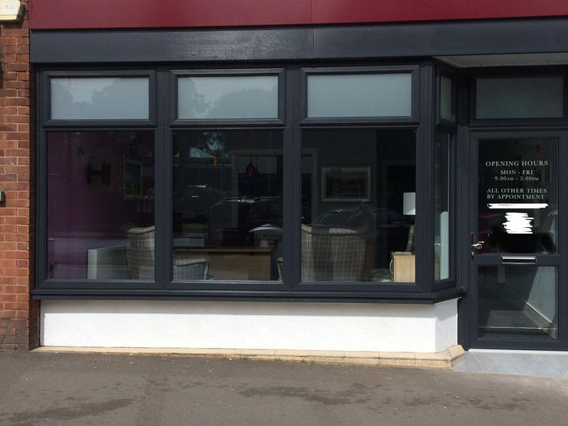 Image 27 - Commercial Shop Front Anthracite Grey UPVC