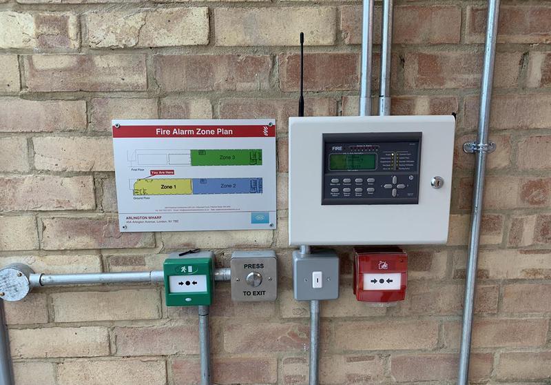 Image 7 - Full fire alarm system radio