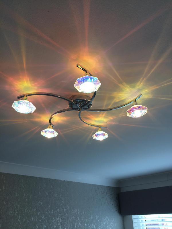 Image 23 - Ceiling light installation.