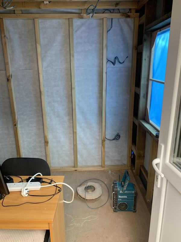Image 2 - First fix of new garden office