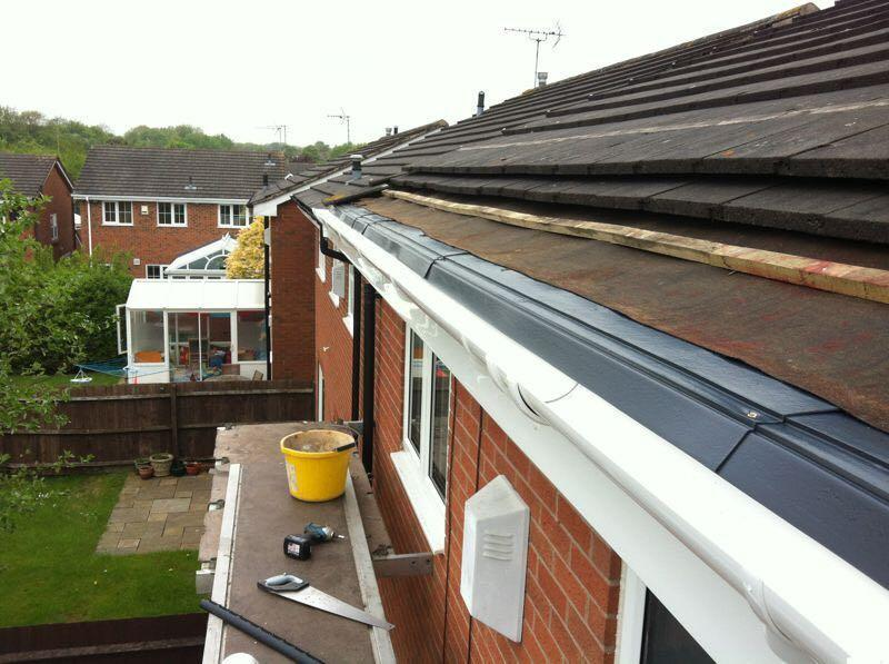Image 9 - A new instalment of facias soffit and guttering and new drip trays