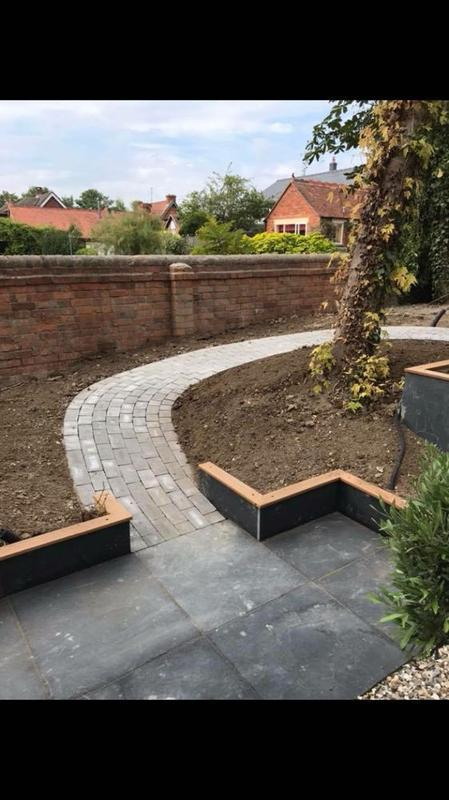 Image 20 - block paving path