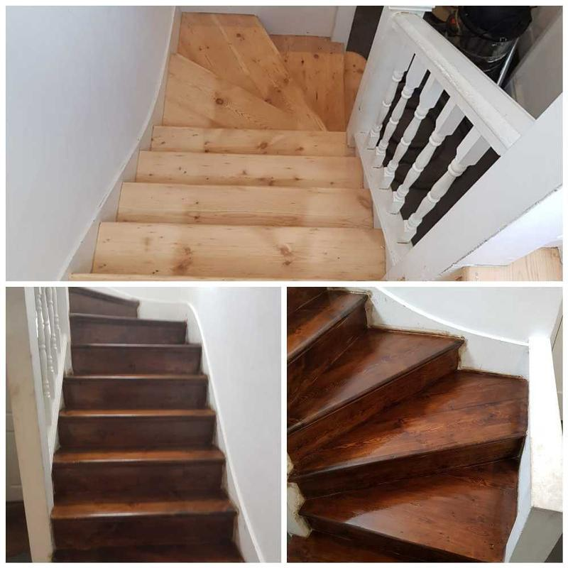Image 32 - stair sanding