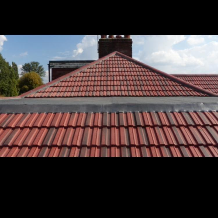 Image 15 - Redland 49 tiled roof completed in Whitton.