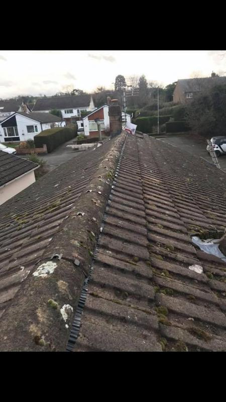 Image 30 - New dry ridge system no more cement involved.You can use your old Ridge tiles